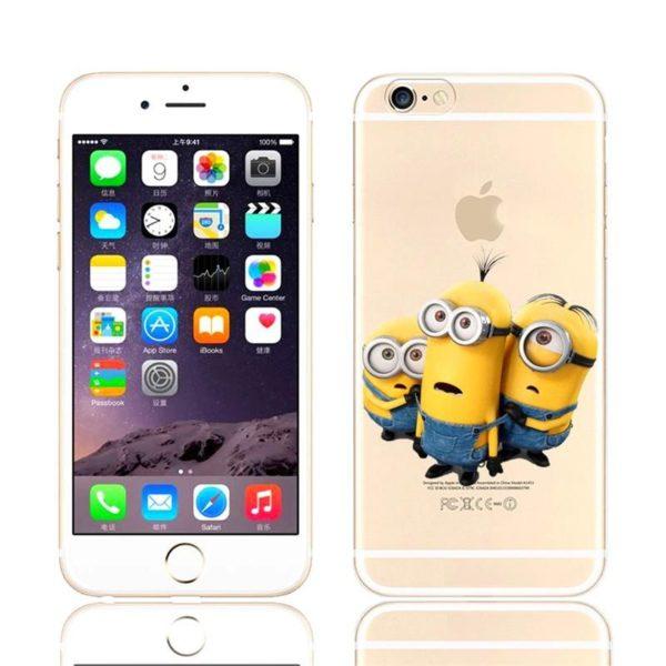 HTB1JimcJVXXXXasXFXXq6xXFXXXS 83610947 f165 433e bcf3 ba76e76680b7 Coque Minions Pour Iphone (4S, 5S, 5C, 6S Et 6 Plus) - Livraison Gratuite !