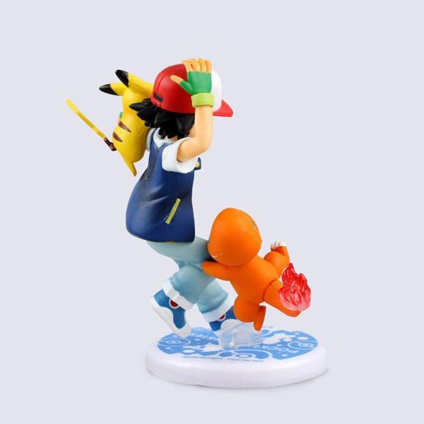 Figurine Sacha Pikatsu (10 Cm) Pokemon - Livraison Gratuite !