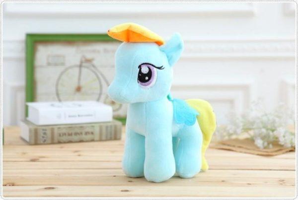 HTB1MjpUOXXXXXaJapXXq6xXFXXXe de5e4c9f 20c2 42ec 9989 56de671f3d93 Peluche Poney 25 Cm My Little Pony (6 Couleurs) - Livraison Gratuite !