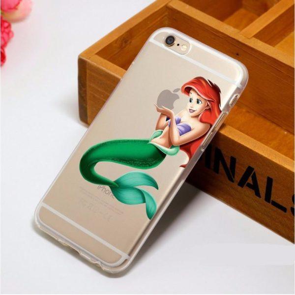 HTB1NWDjLpXXXXbpaXXXq6xXFXXX5 7d12b3e6 973e 4302 b341 044c67672b09 Coque Disney Ariel La Petite Sirene / Blanche Neige Pour Iphone - Livraison Gratuite !