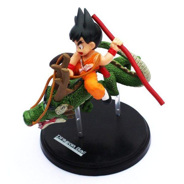 Figurine San Goku Avec Shenron (14Cm) Dragon Ball Z - Livraison Gratuite !