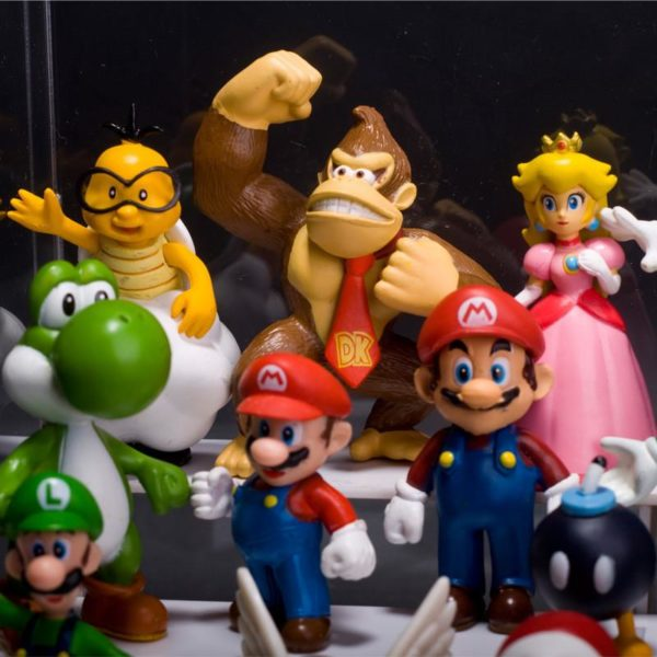 Lot De 18 Figurines Super Mario Bros. En Pvc - Livraison Gratuite !