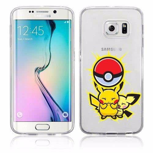 HTB1WOYZKVXXXXc5XFXXq6xXFXXXl 50502d5b 1727 4f3c 8d19 f9e3469e32ec Coque Pokémon Go Pokéball Transparente Pour Samsung Galaxy - Livraison Gratuite !