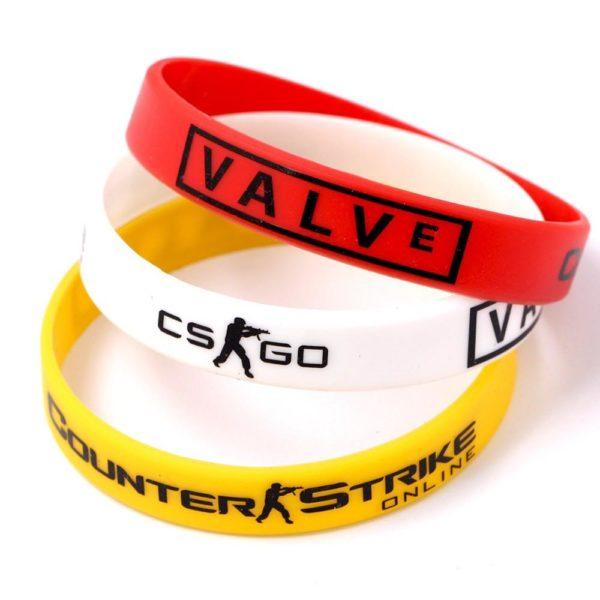 Bracelet En Silicon Counter Strike (3 Couleurs) - Livraison Gratuite !