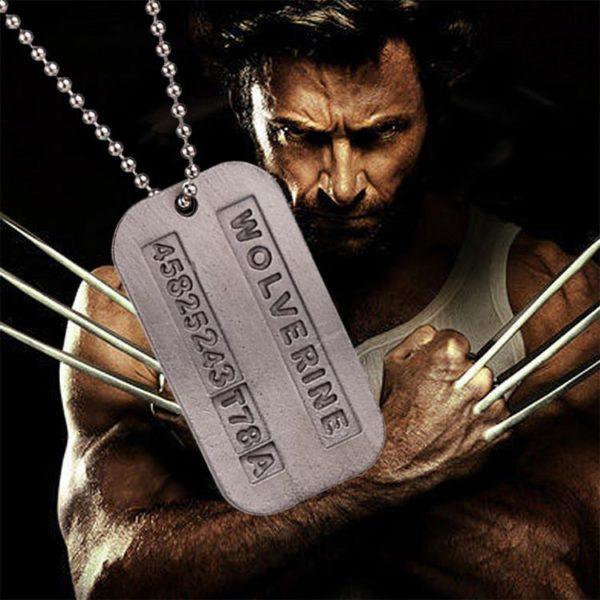 Collier Avec Plaque D'identité X-Men Wolverine Cosplay ( 2 Couleurs Disponibles) - Livraison Gratuite !