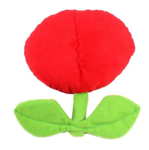 Peluche Fire And Ice Flower 17Cm (2 Couleurs Disponibles) Super Mario Bros. - Livraison Gratuite !