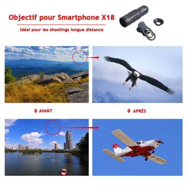 HTB1 INtkb3nBKNjSZFMq6yUSFXaZ Objectif Pour Smartphone - Zoom X18