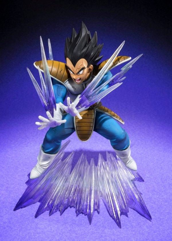 Figurine Vegeta Galick Gun (15Cm) Dragon Ball Z - Livraison Gratuite !