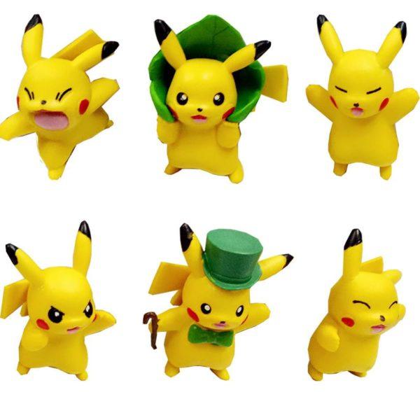 HTB1 wnYKVXXXXcbXXXXq6xXFXXXx 9b036697 8707 4b7c a297 aace585fcc3e 1 Lot De 6 Figurines Pikachu (3 / 4 Cm) Pokemon - Livraison Gratuite !
