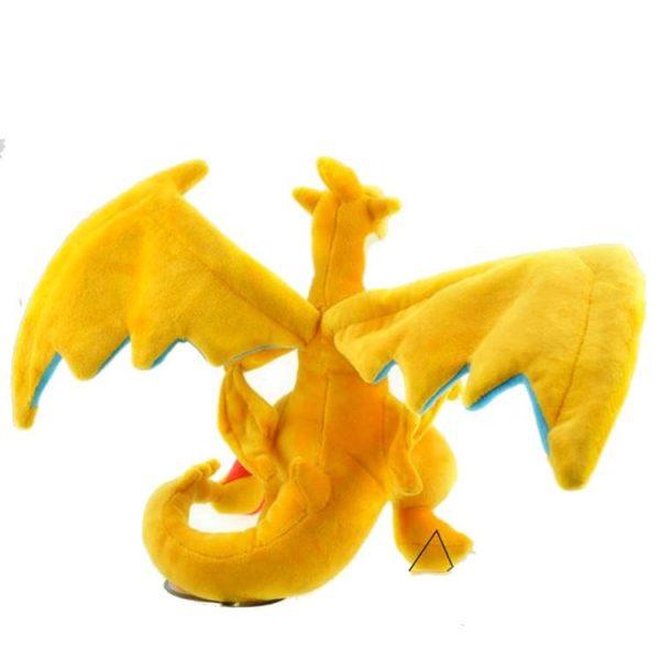 Peluche Mega Evolution X&Y Dracaufeu (23-25Cm) Pokemon - Livraison Gratuite !
