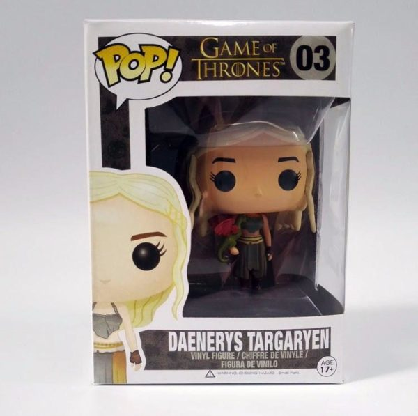 Figurine Daenerys Et Jon Snow (10 Cm) Game Of Thrones - Livraison Gratuite !