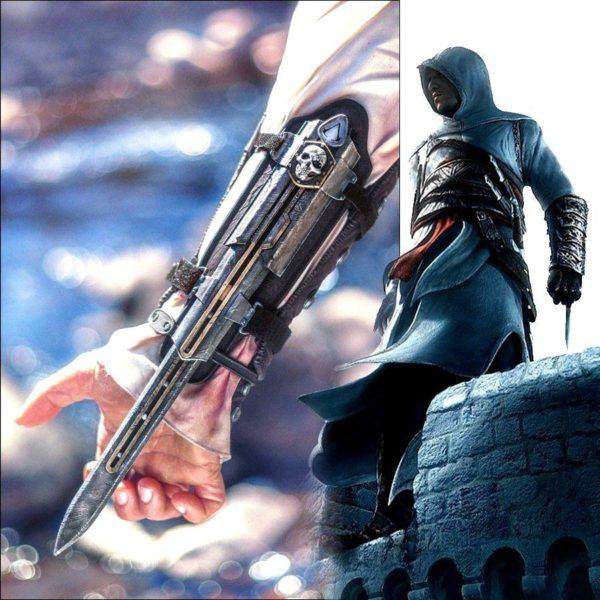 Drapeau De Pirate Noir Lame Cachée Assassin's Creed 4 - Livraison Gratuite !