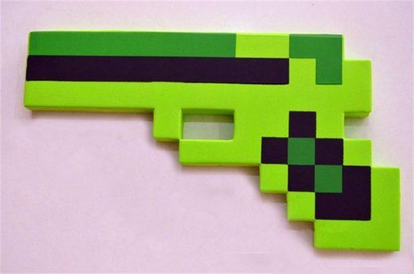 HTB1eMDBHFXXXXc0XpXXq6xXFXXXF 06049103 5f58 4cf9 ab51 a5fb96ecb33d Pistolet Arme Minecraft (4 Couleurs) - Livraison Gratuite !