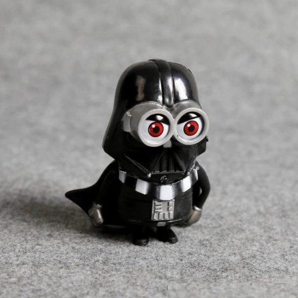 1 Lot De 4 Figurines Minion Version Star Wars - Livraison Gratuite !