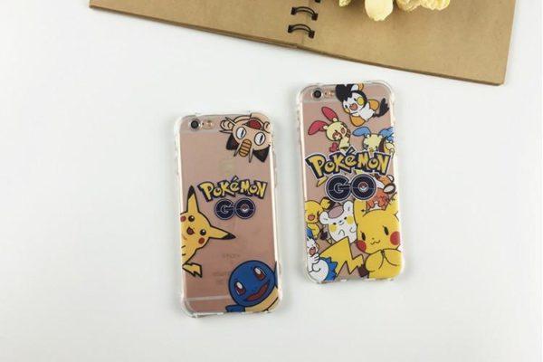 Coque Pokémon Go En Tpu Souple Transparent Anti-Choc Pour Iphone - Livraison Gratuite !