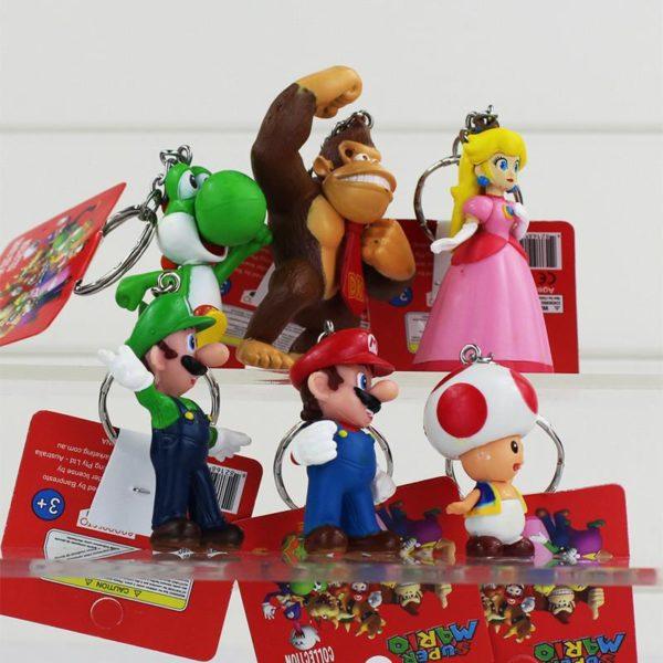 HTB1fldYJXXXXXabXFXXq6xXFXXXP cac11ca6 2706 43eb a7e6 6e4a993c0ee8 1 Lot De 5 Figurines Porte-Clés Super Mario Bros. - Livraison Gratuite !