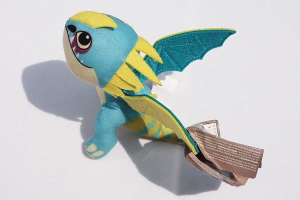 """Peluche Gronkle Meatlug/ Stromfly (20 Cm) """"Comment Dresser Votre Dragon"""" - Livraison Gratuite !"""