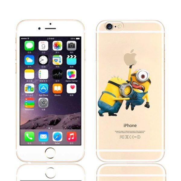 HTB1hql5JVXXXXb5XVXXq6xXFXXXF 7b14bf46 132e 4fe2 9a1f 08d87cd261f2 Coque Minions Pour Iphone (4S, 5S, 5C, 6S Et 6 Plus) - Livraison Gratuite !