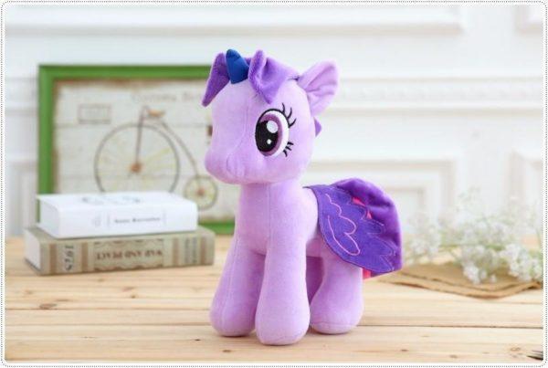 HTB1j5JSOXXXXXaCapXXq6xXFXXXT 7813afc1 e861 402e a78c 6401faa6a368 Peluche Poney 25 Cm My Little Pony (6 Couleurs) - Livraison Gratuite !
