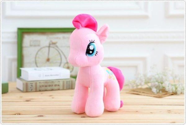 HTB1jYxHOXXXXXb7aFXXq6xXFXXXJ e71fd80b d9c1 44c8 afba c3bcd0ba0a86 Peluche Poney 25 Cm My Little Pony (6 Couleurs) - Livraison Gratuite !