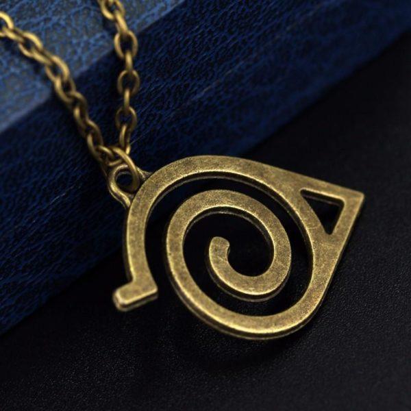Collier Naruto Symbole Konoha - Livraison Gratuite !