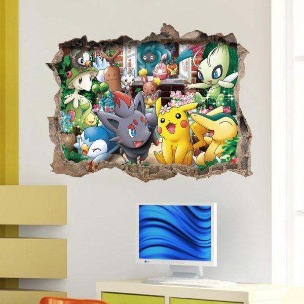 HTB1mZdpLpXXXXX5XFXXq6xXFXXXC 6ede495a be6e 45de b26e 2382d8589984 Stickers Muraux Pokémon Go - Livraison Gratuite !