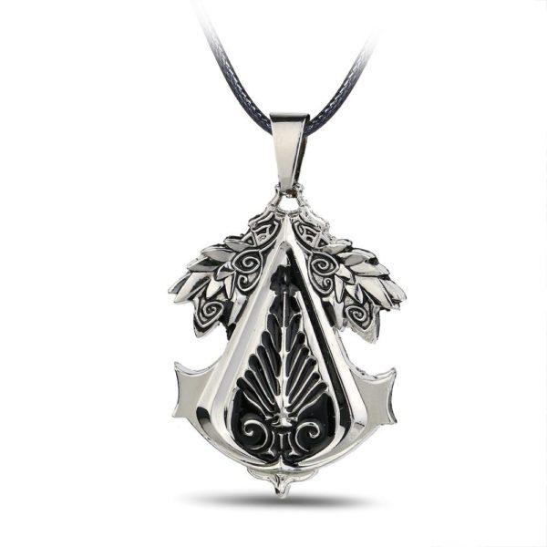 Collier Avec Pendentif En Alliage Assassin's Creed - Livraison Gratuite !