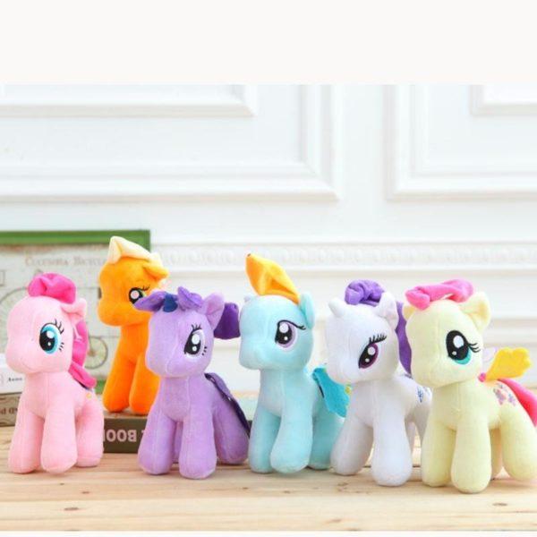Peluche Poney 25 Cm My Little Pony (6 Couleurs) - Livraison Gratuite !