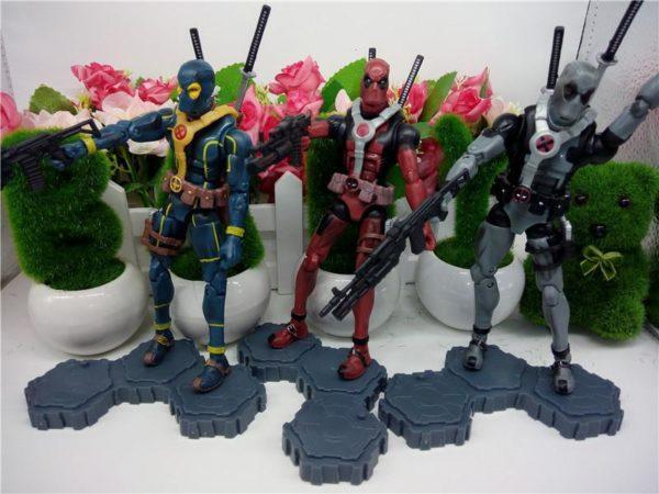 Figurine Deadpool Action 15 Cm (3 Couleurs) - Livraison