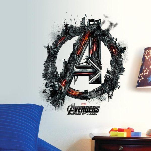 HTB1uzL9OFXXXXc5XXXXq6xXFXXX1 722631d8 40d0 4954 834f 70a253eda5af Stickers Muraux Les Avengers En 3D - Livraison Gratuite !