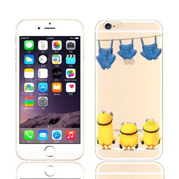 HTB1vkOnJVXXXXcHXXXXq6xXFXXX4 e470a762 efac 4537 8b3a 8ff7468680e6 Coque Minions Pour Iphone (4S, 5S, 5C, 6S Et 6 Plus) - Livraison Gratuite !