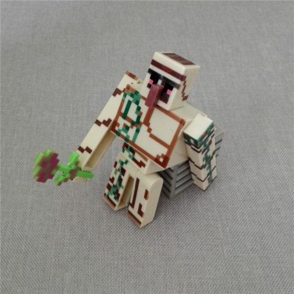 HTB1vyJxNXXXXXcjXFXXq6xXFXXXW 30283135 405d 40fd 91ac 637037585bf1 1 Lot De 3 Figurines (Iron Golem Bloc Fleur) Minecraft - Livraison Gratuite !