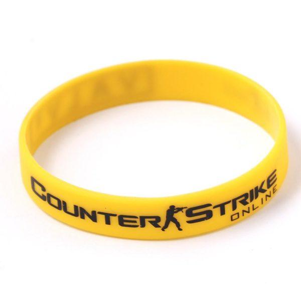 HTB1xU6qNXXXXXahXpXXq6xXFXXXd c37d5295 67e3 4894 a37e 8778fed9f723 Bracelet En Silicon Counter Strike (3 Couleurs) - Livraison Gratuite !