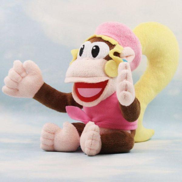 Peluche Dixie Kong (18 Cm) Super Mario Bros - Livraison Gratuite !
