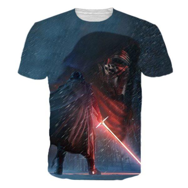 Hommes Star wars 3D T shirt Darth Vader Dirige Kylo Ren Top 1 3acc40be f254 4bb0 b913 aa4996c3ac53 T-Shirt Star Wars 3D Kylo Ren (4 Modèles) - Livraison Gratuite !