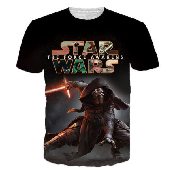 Hommes Star wars 3D T shirt Darth Vader Dirige Kylo Ren Top 2 af8258c7 4b12 4fc6 9b00 ae78571a7bec T-Shirt Star Wars 3D Kylo Ren (4 Modèles) - Livraison Gratuite !