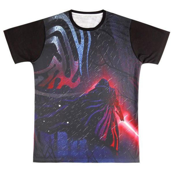 Hommes Star wars 3D T shirt Darth Vader Dirige Kylo Ren Top 4 f05d7387 f464 4495 8a23 d35080b3fddb T-Shirt Star Wars 3D Kylo Ren (4 Modèles) - Livraison Gratuite !