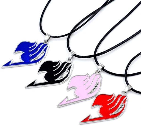 Hot Slae Women Men Cosplay font b Anime b font font b FAIRY b font font Collier Fairy Tail (4 Couleurs Disponibles) - Livraison Gratuite !