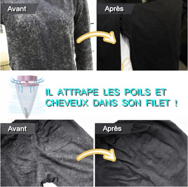 IMAGEZ Clean ™ - Boule Magique Attrape Poils Et Cheveux Pour Machine À Laver / Lave Linge - Animal Protect®