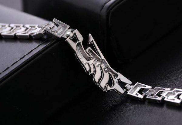Japonais de Bande Dessin eacute Bracelet Logo Fairy Tail En Alliage - Livraison Gratuite !
