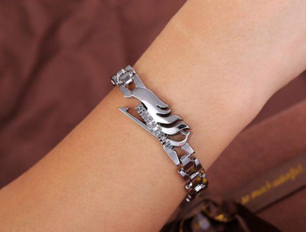 Japonais de Bande Dessin eacute 1 Bracelet Logo Fairy Tail En Alliage - Livraison Gratuite !