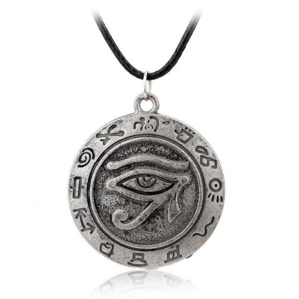 Japonais et sud Cor eacute 1 Collier Yu-Gi-Oh! Talisman Oeil De Horus - Livraison Gratuite !