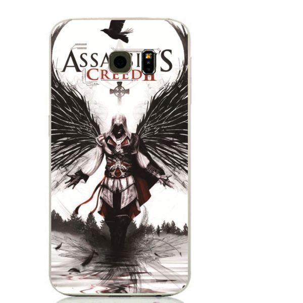 Jeu Assassin Creed de conception en plastique Dur cas couverture de t eacute Coque Assassin's Creed Pour Samsung Galaxy (3 Colors Skin Cover) -