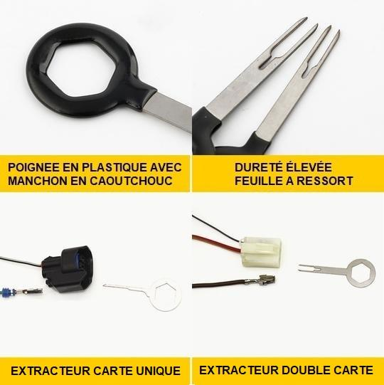 K5 Kit D'outils Pour Extraction De Terminal