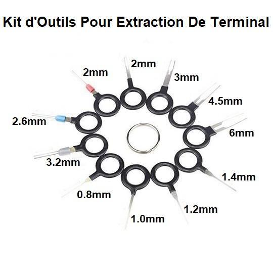 K6 Kit D'outils Pour Extraction De Terminal