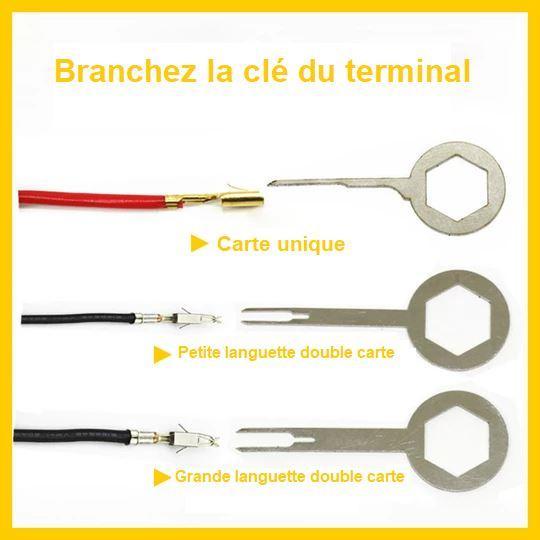 K7 Kit D'outils Pour Extraction De Terminal