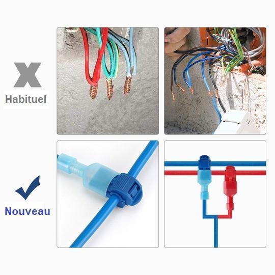 KIT2 Kit De Connecteurs De Fils T-Tap