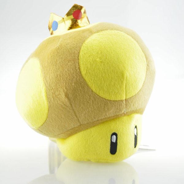 Kawaii 8 20 cm Super Mario Couronne Champignons En Peluche Jouets Doux En Peluche jouets Poup eacute Peluche Super Champi (20 Cm) Super Mario Bros. - Livraison Gratuite !