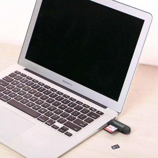 L 2 Lecteur De Carte 3-En-1 Micro Usb - Usb - Type C Pour Android
