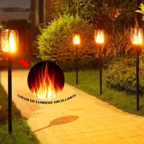 LFV 5 Lanterne Solaire Avec Flamme Vacillante
